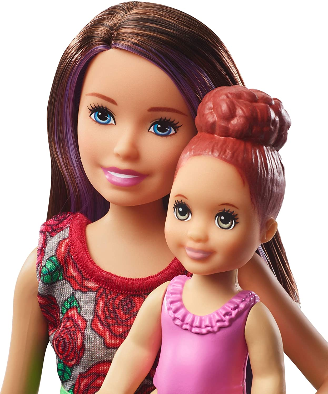 Boneca Barbie: Barbie Babysitters (Skipper) (Hora Do Banho) - Mattel