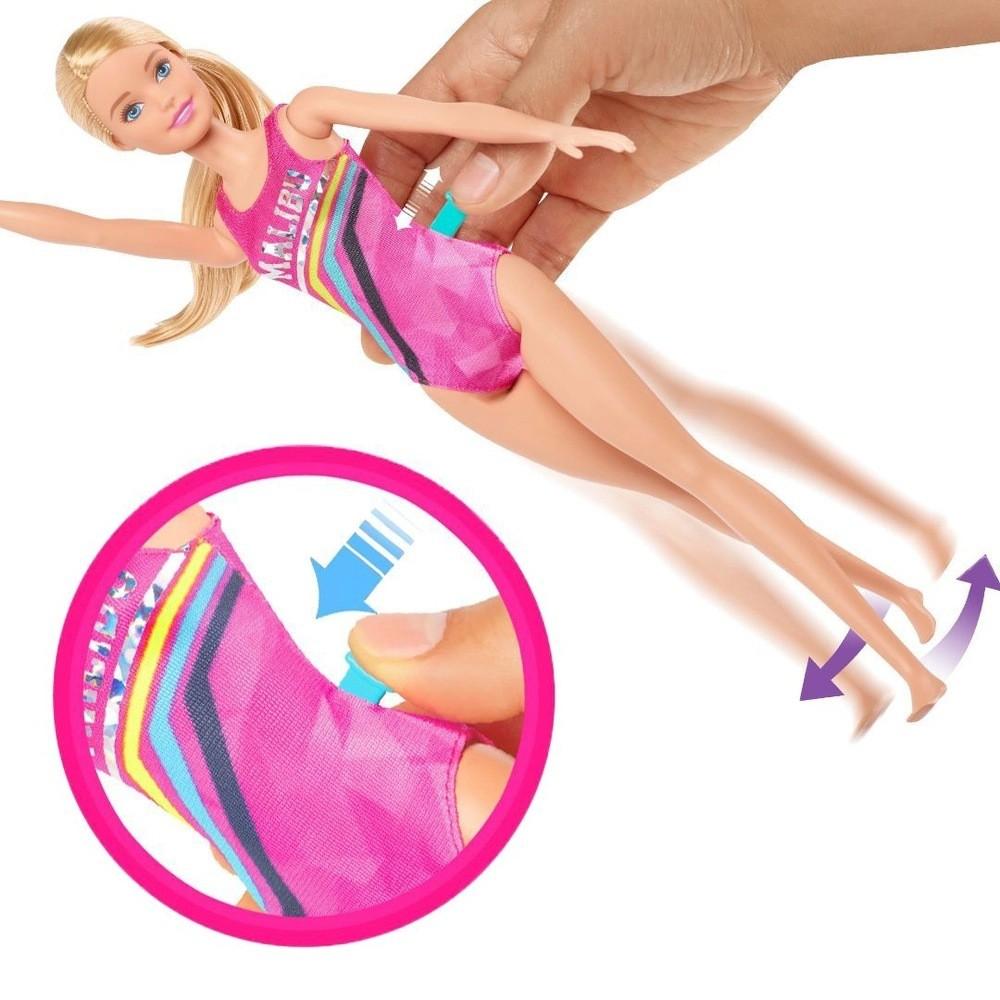 Boneca Barbie: Barbie Dreamhouse (Nadadora) - Mattel