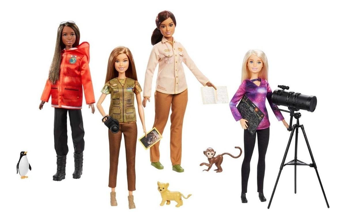 Boneca Barbie: Barbie National Geographic (Fotógrafa) - Mattel