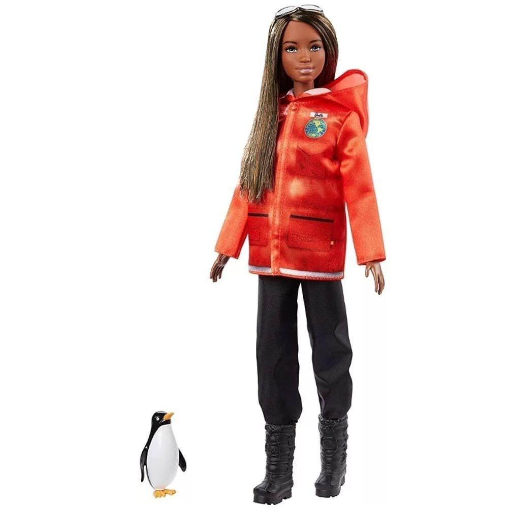 Boneca Barbie: Barbie National Geographic (Pesquisadora) - Mattel