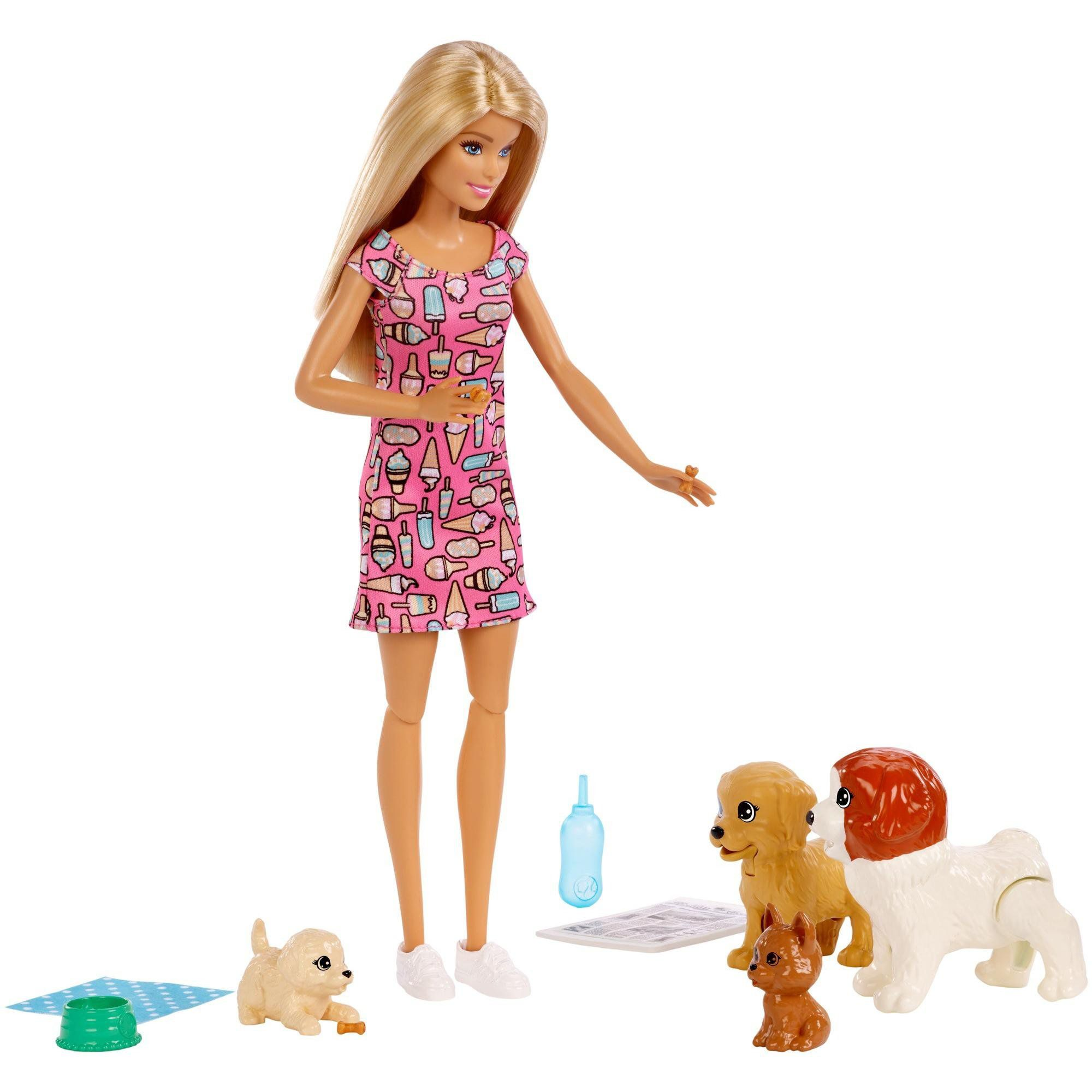 Boneca Barbie Doggy Daycare - Mattel