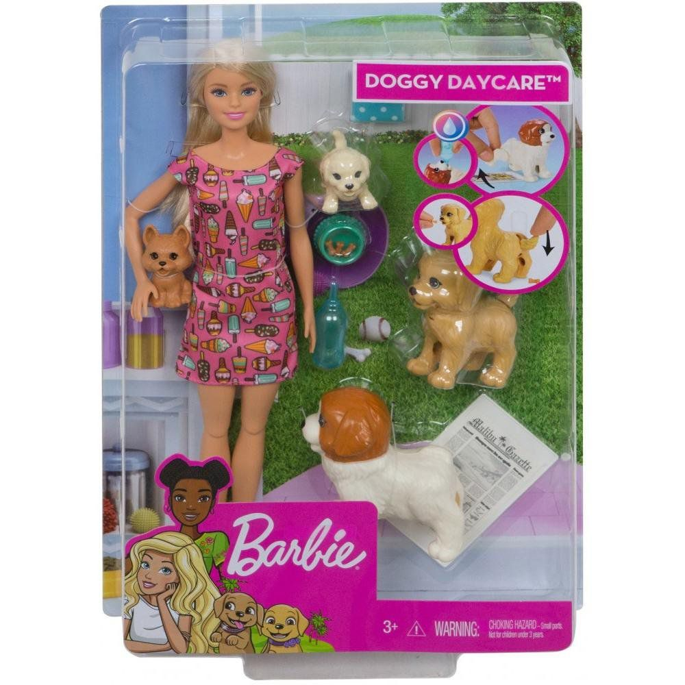 Boneca Barbie Doggy Daycare - Mattel