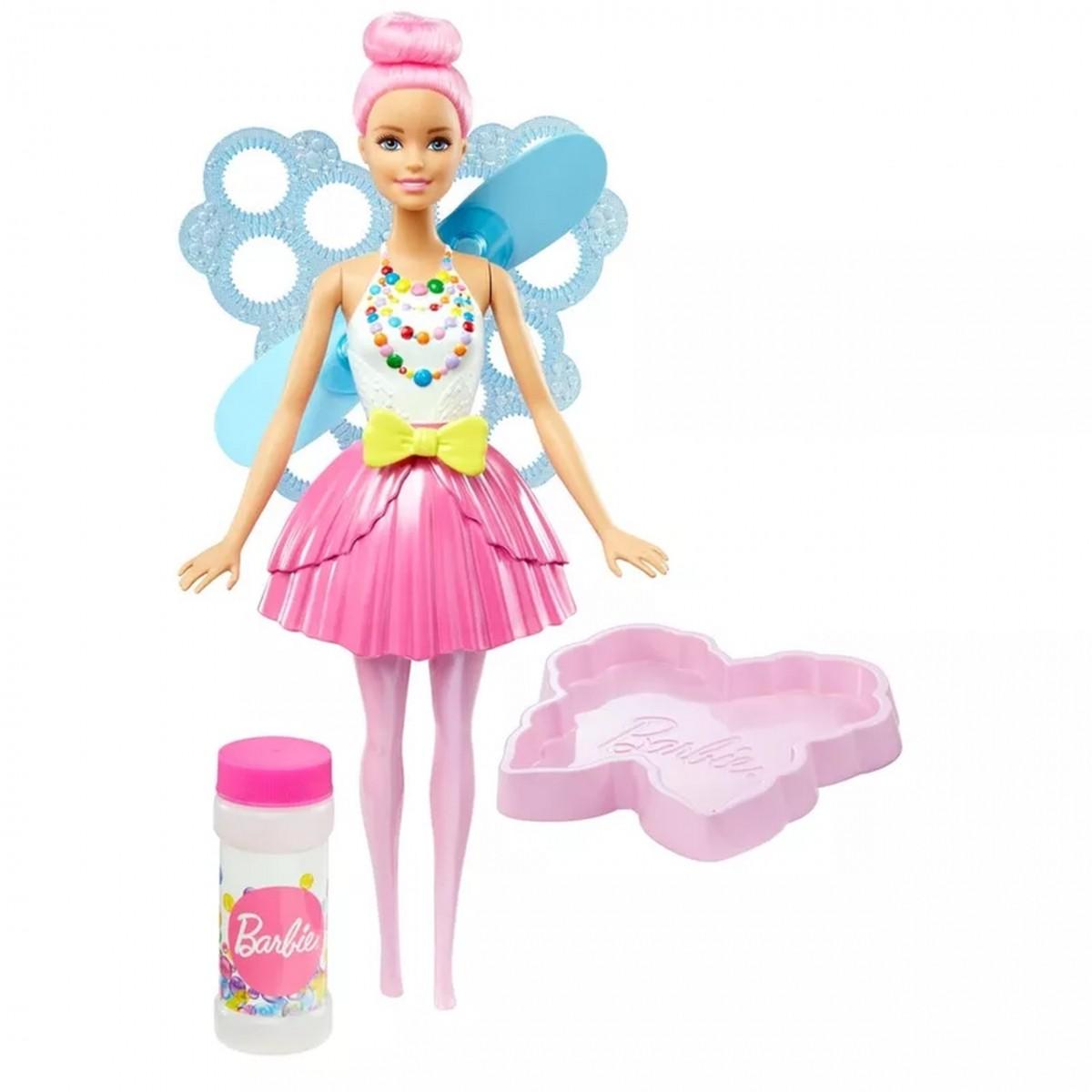 Boneca Barbie Dreamtopia Articulada: Fada Bolhas Mágicas