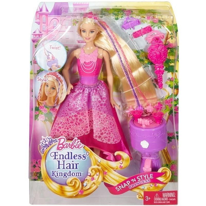 Boneca Barbie Dreamtopia: Princesa Tranças Mágicas
