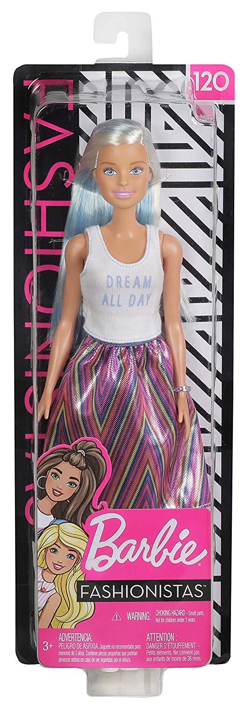 Boneca Barbie: Fashionista #120 - Mattel