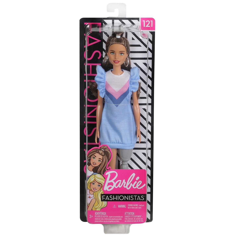 Boneca Barbie: Fashionista #121 - Mattel