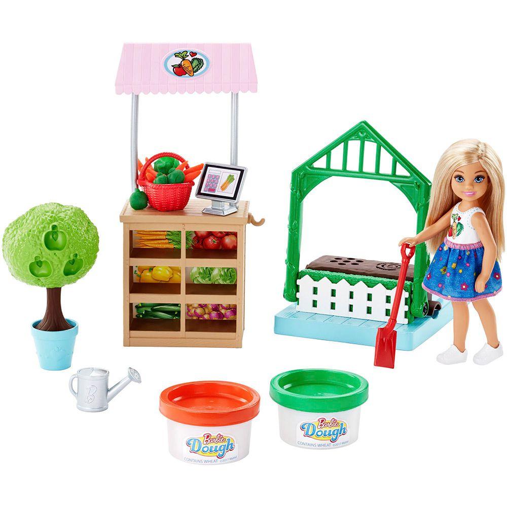 Boneca Barbie: Horta da Chelsea - Mattel
