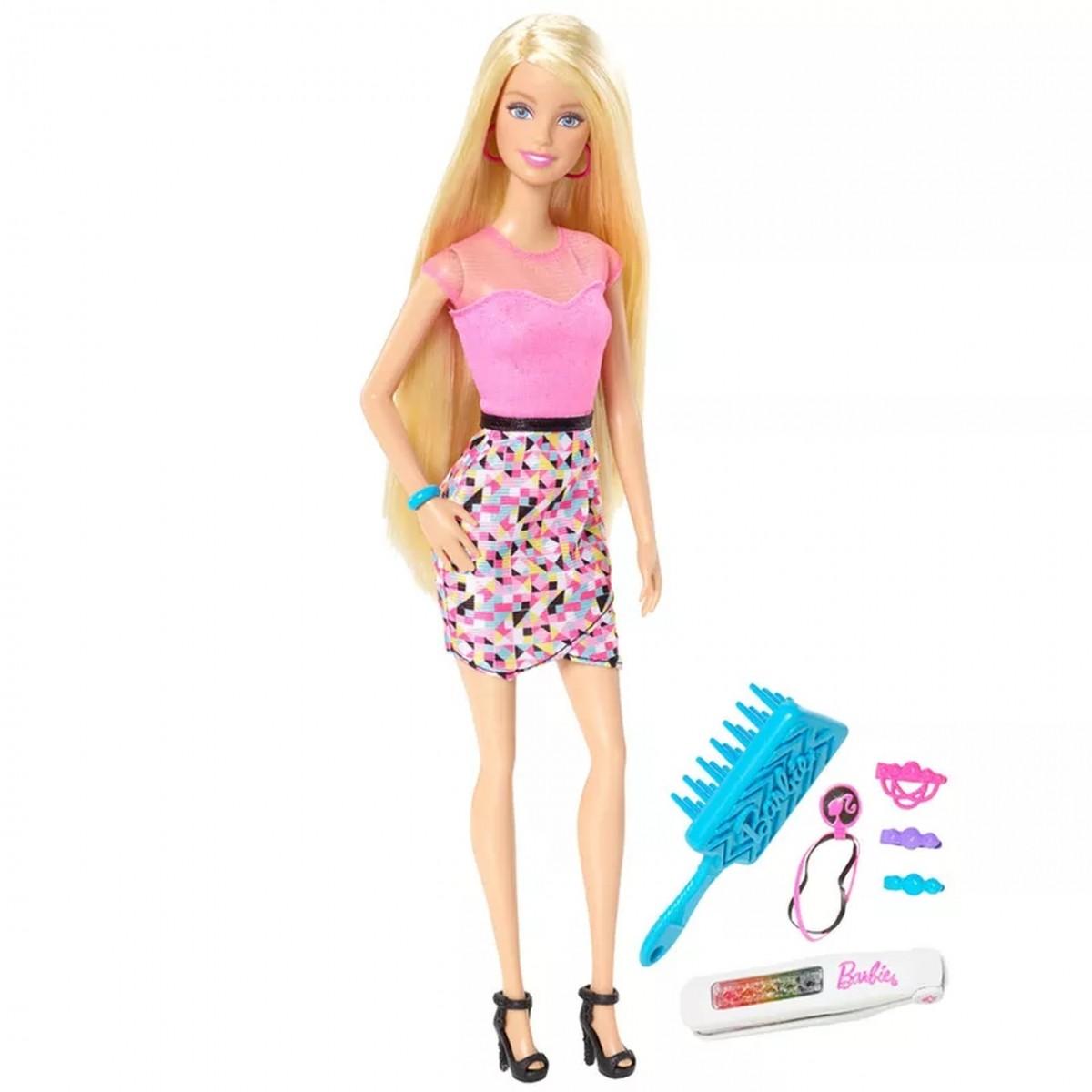 Boneca Barbie Luzes Coloridas