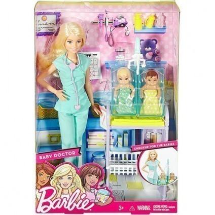 Boneca Barbie Médica Pediatra
