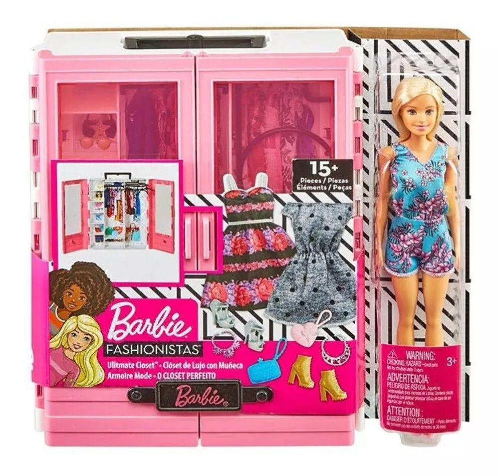 Boneca Barbie O Closet Perfeito: Fashionistas - Mattel