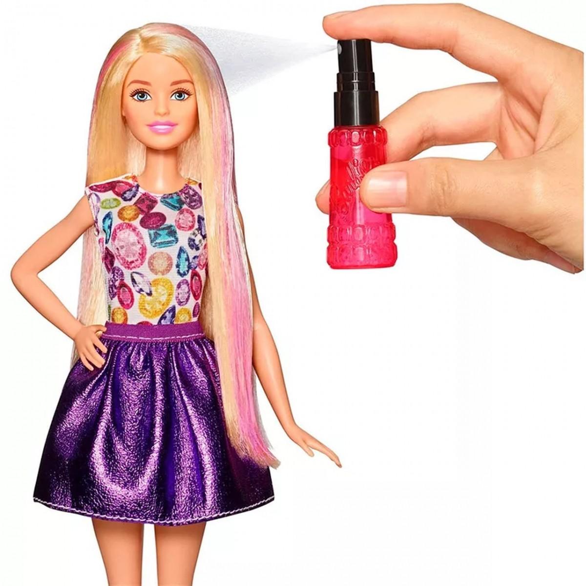 Boneca Barbie Ondas e Cachos: Fashion