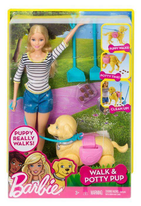 Boneca Barbie: Passeio com Cachorrinho - Mattel