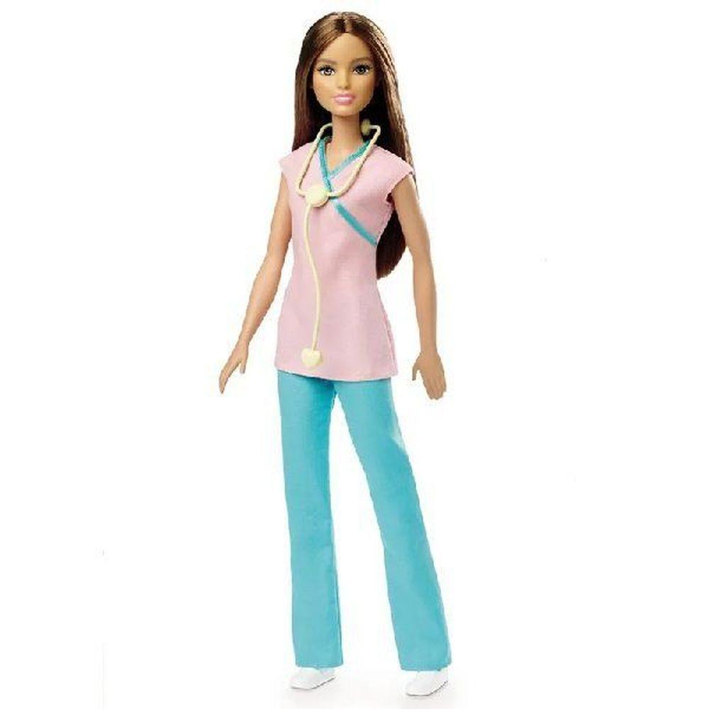 Boneca Barbie Profissões: Enfermeira (Aniversário 60 Anos) - Mattel
