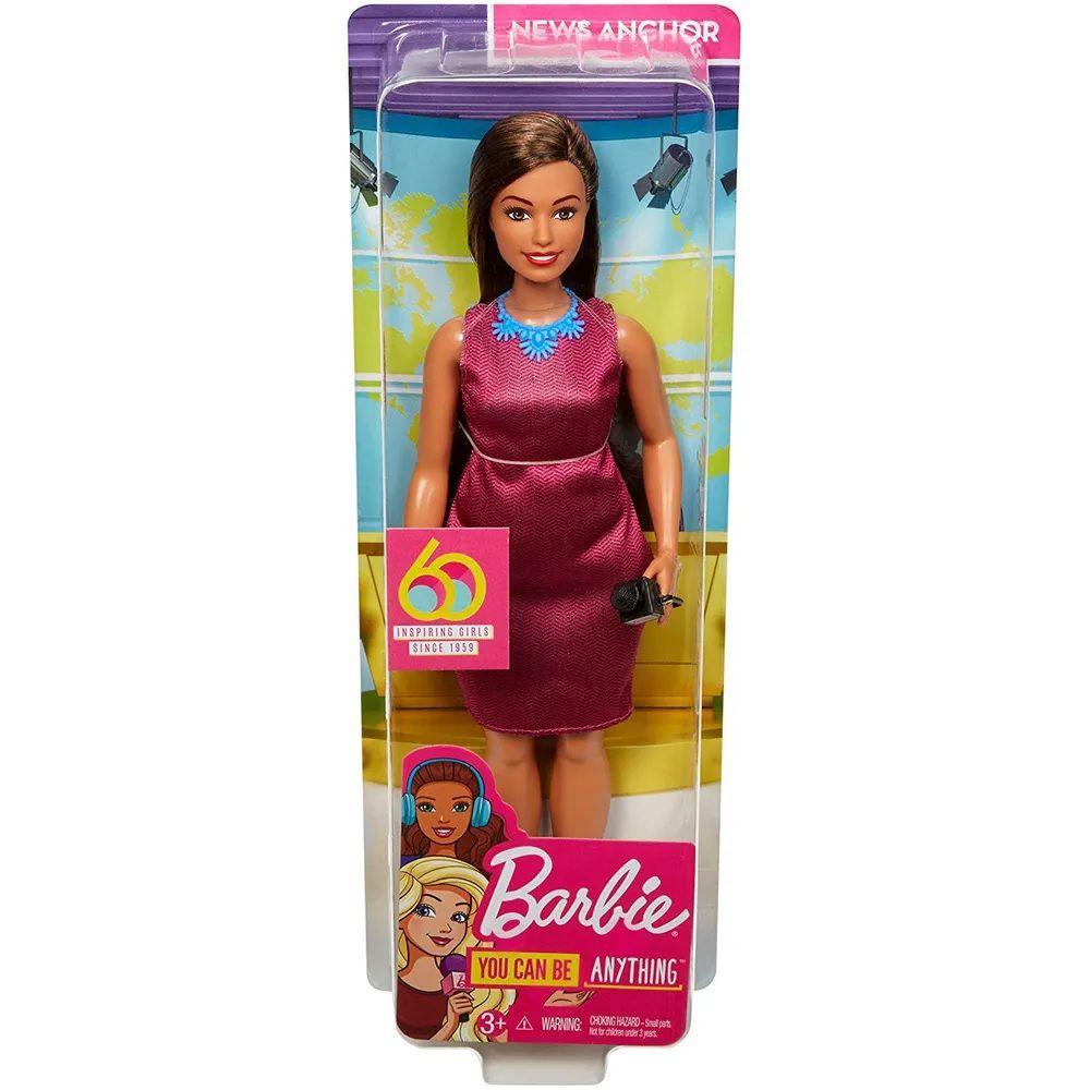 Boneca Barbie Profissões: Jornalista (Aniversário 60 Anos) - Mattel