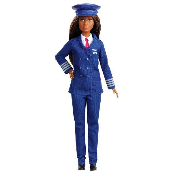 Boneca Barbie Profissões: Piloto (Aniversário 60 Anos) - Mattel