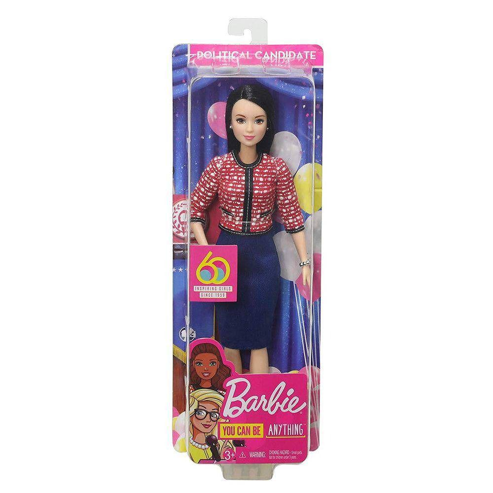 Boneca Barbie Profissões: Política (Aniversário 60 Anos) - Mattel