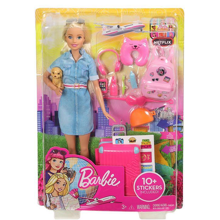 Boneca Barbie Viajante (Explorar e Descobrir) - Mattel