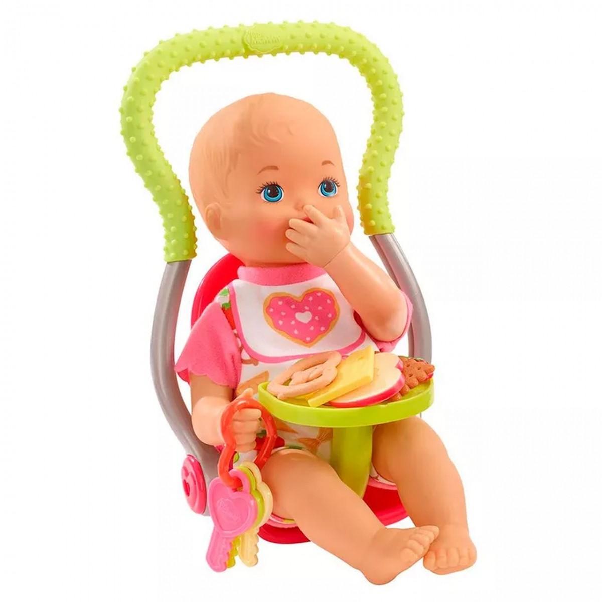 Boneca Bebê: Meu Primeiro Lanchinho Little Mommy