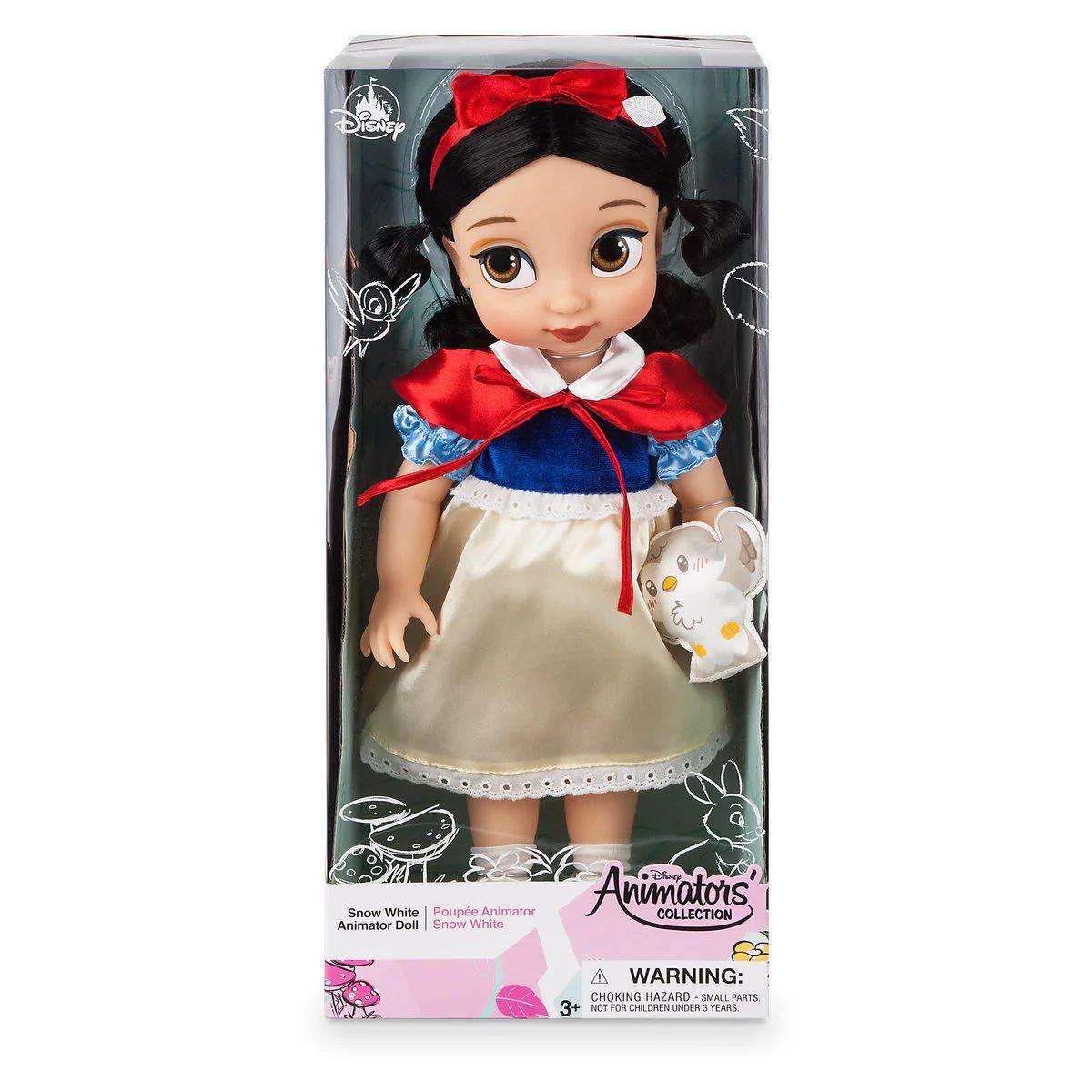 Boneca Branca de Neve (Snow White): Branca de Neve e os Sete Anões (Disney Animators' Collection) - Disney