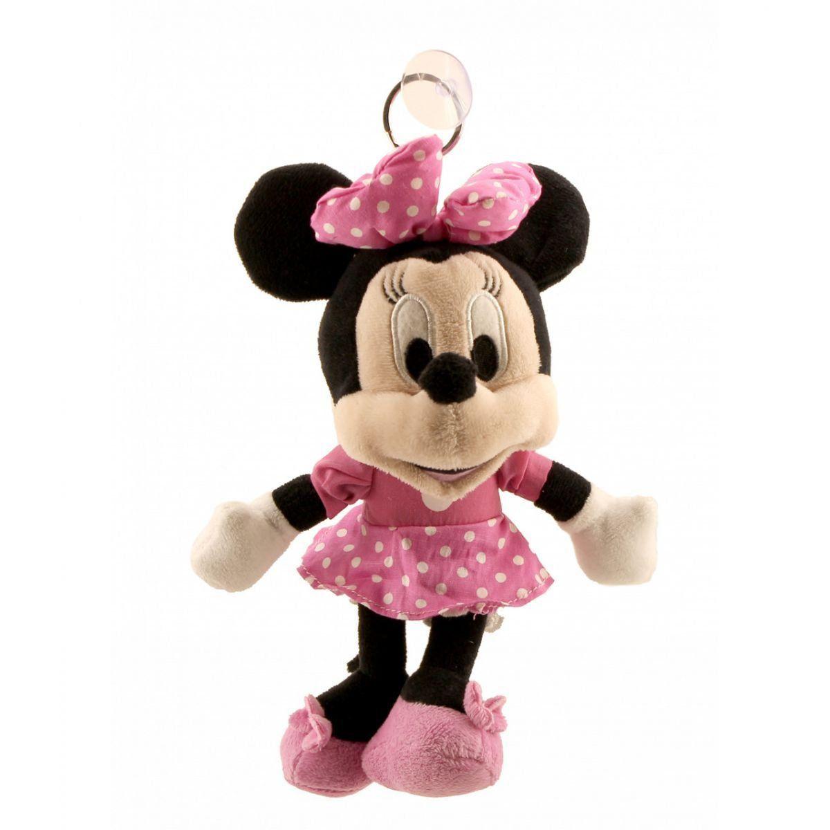 Chaveiro Boneca Minnie Mouse Rosa na Lata - Disney