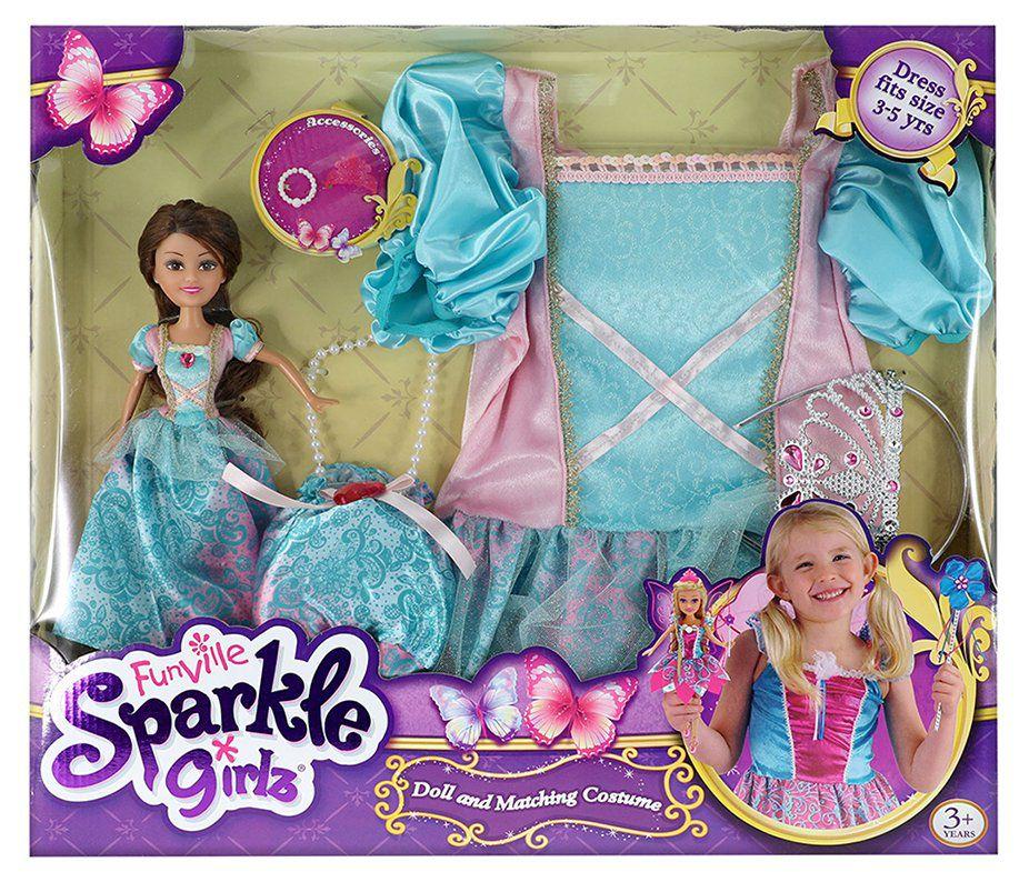 Boneca com Fantasia Sparkle Girlz: Princesa Fantasia - DTC