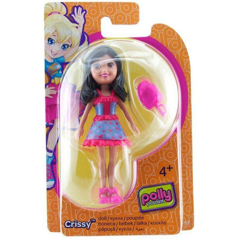 Boneca Crissy (Algodão Doce): Polly Pocket - Mattel