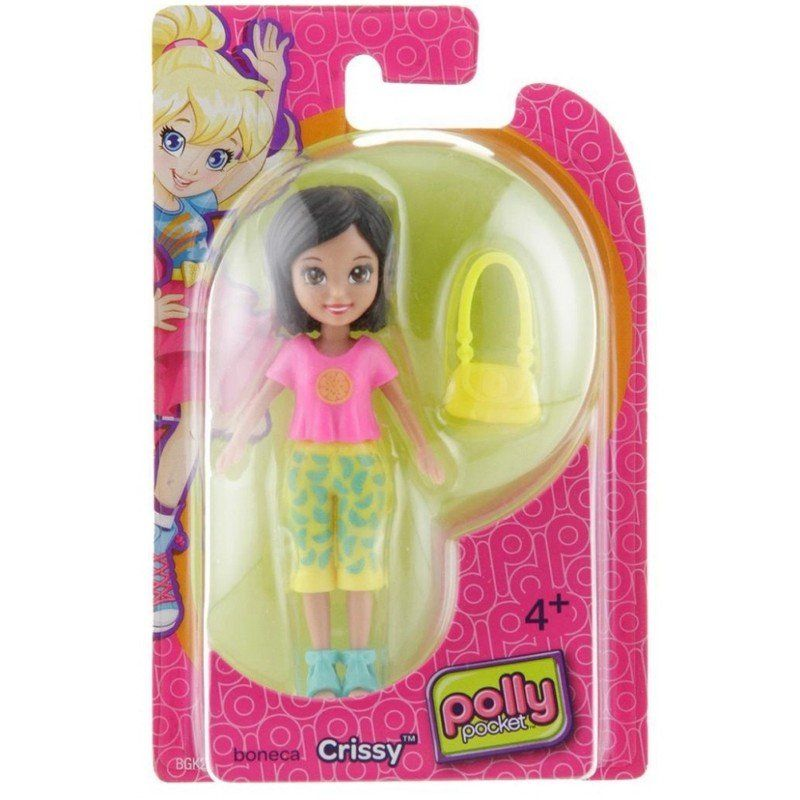 Boneca Crissy (Bolsa Amarela): Polly Pocket - Mattel