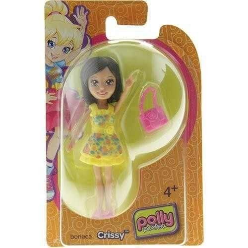Boneca Crissy (Bolsa Rosa): Polly Pocket - Mattel