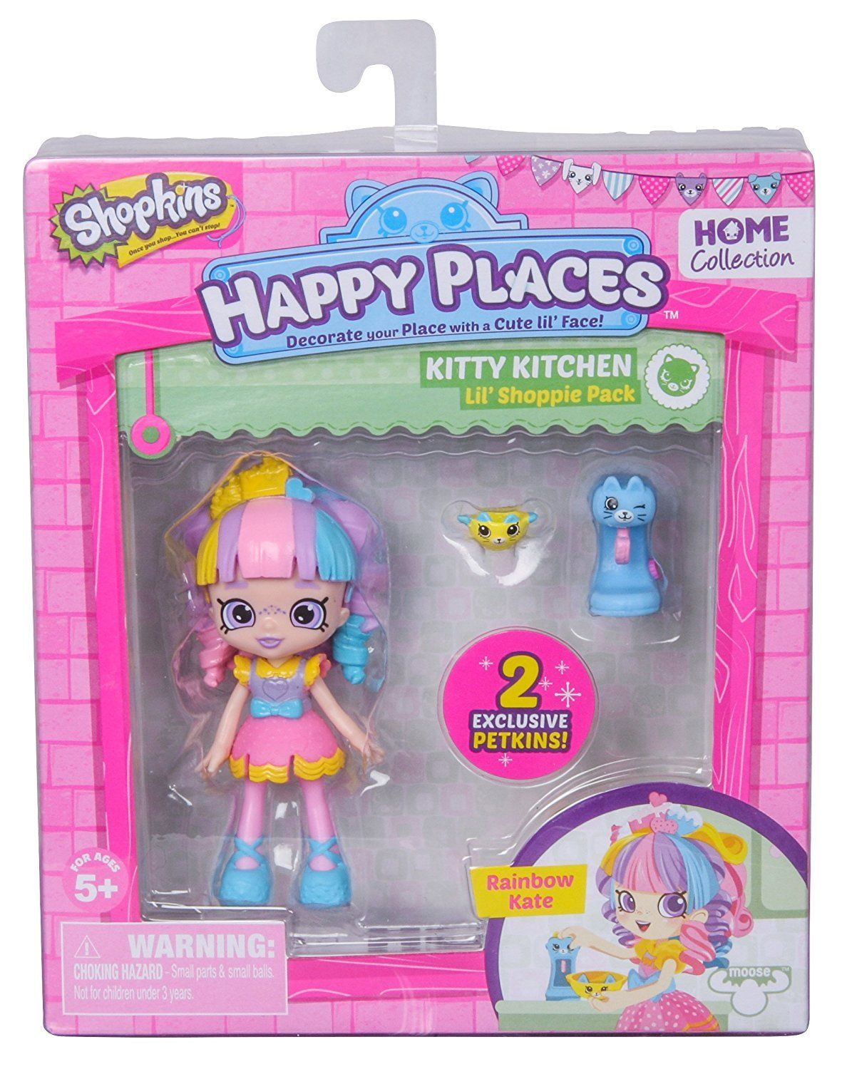 Boneca Kate Ìris: Shopkins Happy Places (Kit Mini