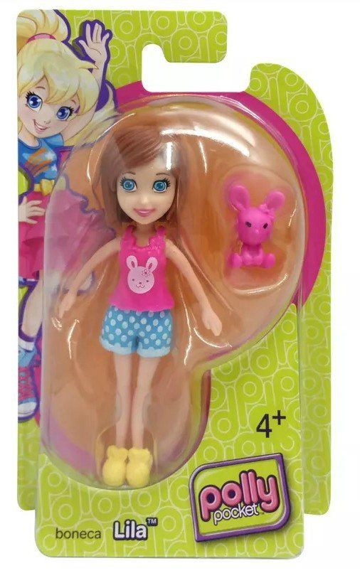 Boneca Lila (Coelhinho): Polly Pocket - Mattel