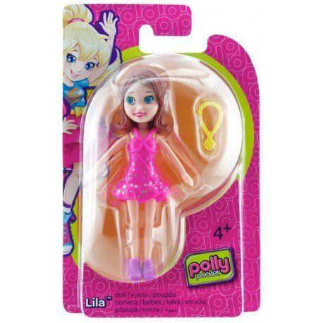 Boneca Lila (Colar Amarelo): Polly Pocket - Mattel