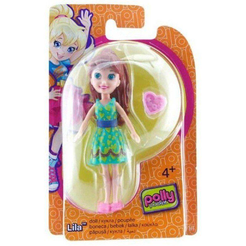 Boneca Lila (Coração): Polly Pocket - Mattel