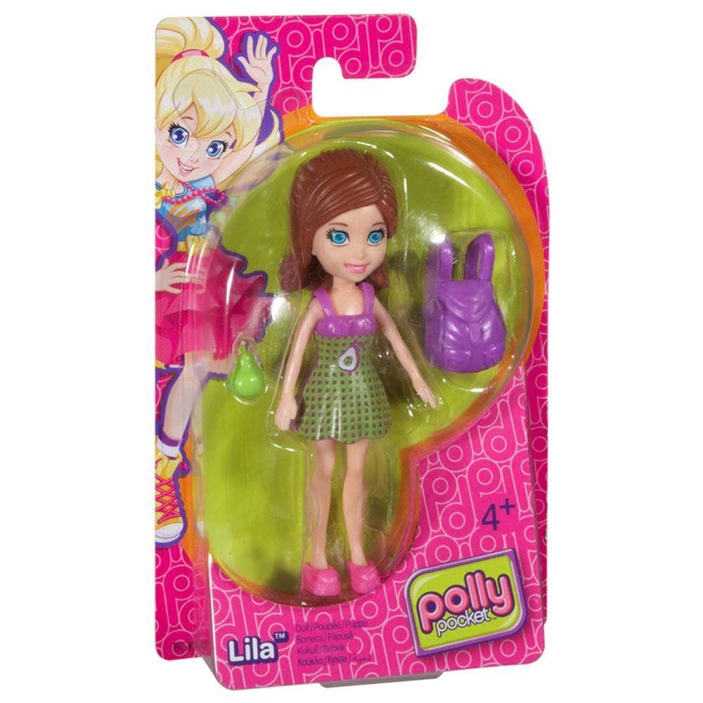 Boneca Lila (Mochila Roxa): Polly Pocket - Mattel