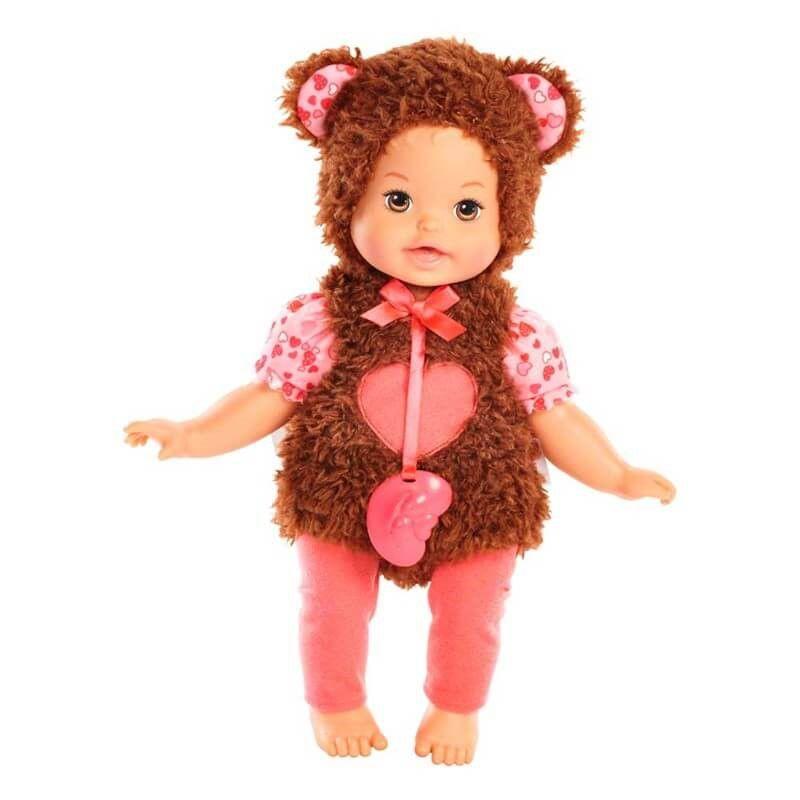 Boneca Little Mommy (Fantasias Fofinhas): Ursinho