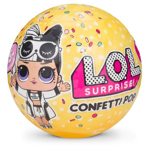 Boneca LOL Surprise Confetti Pop Grande Series 3 (Sortido)