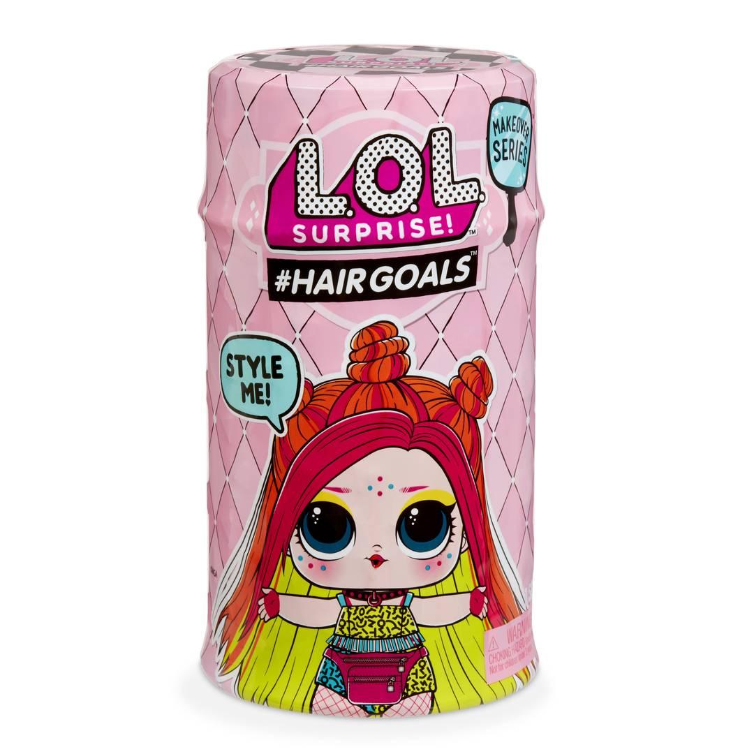 Boneca LOL Surprise: #Hairgoals Makeover Series (Cabelo de Verdade)