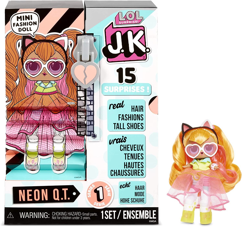 """Boneca LOL Surprise J.K """"15 Surprises"""": Neon Q.T - Candide"""