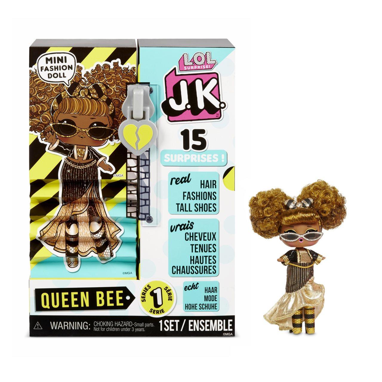 """Boneca LOL Surprise J.K """"15 Surprises"""": Queen Bee - Candide"""