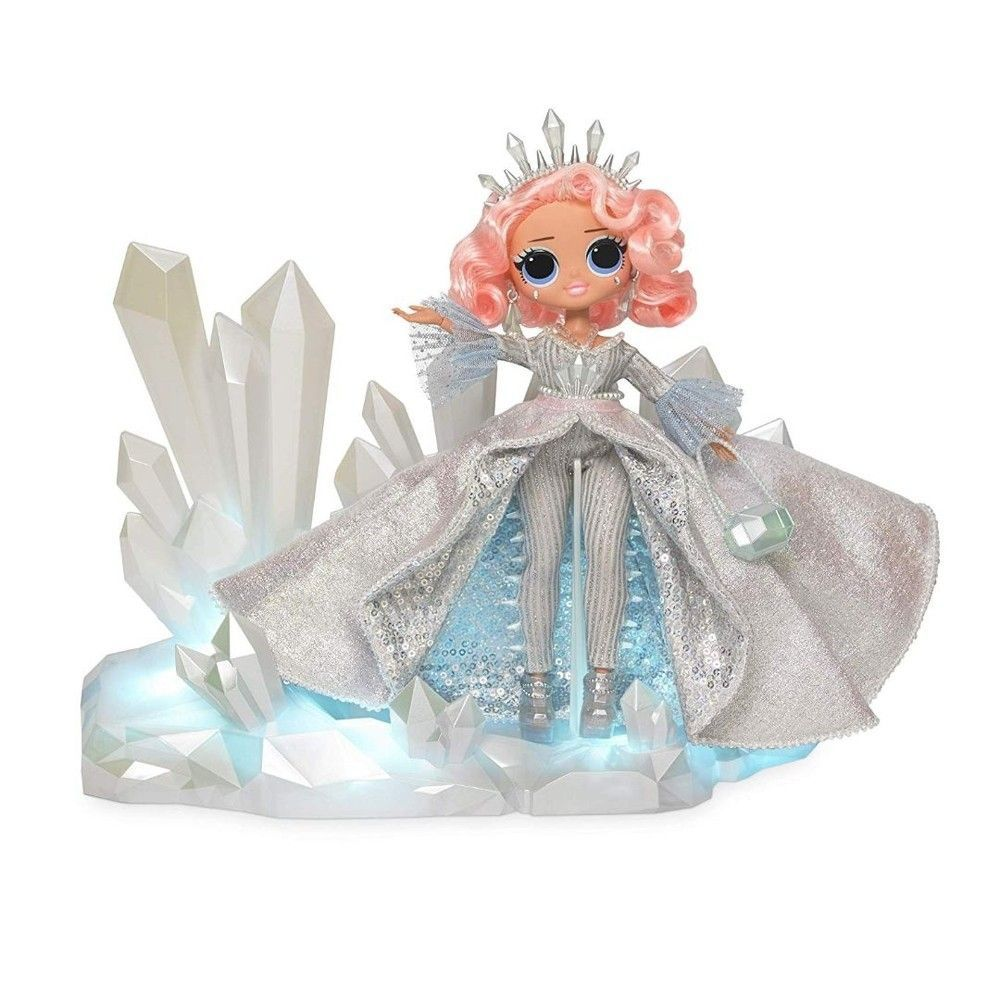 Boneca LOL Surprise: O.M.G Crystal Star (Winter Disco) - Candide