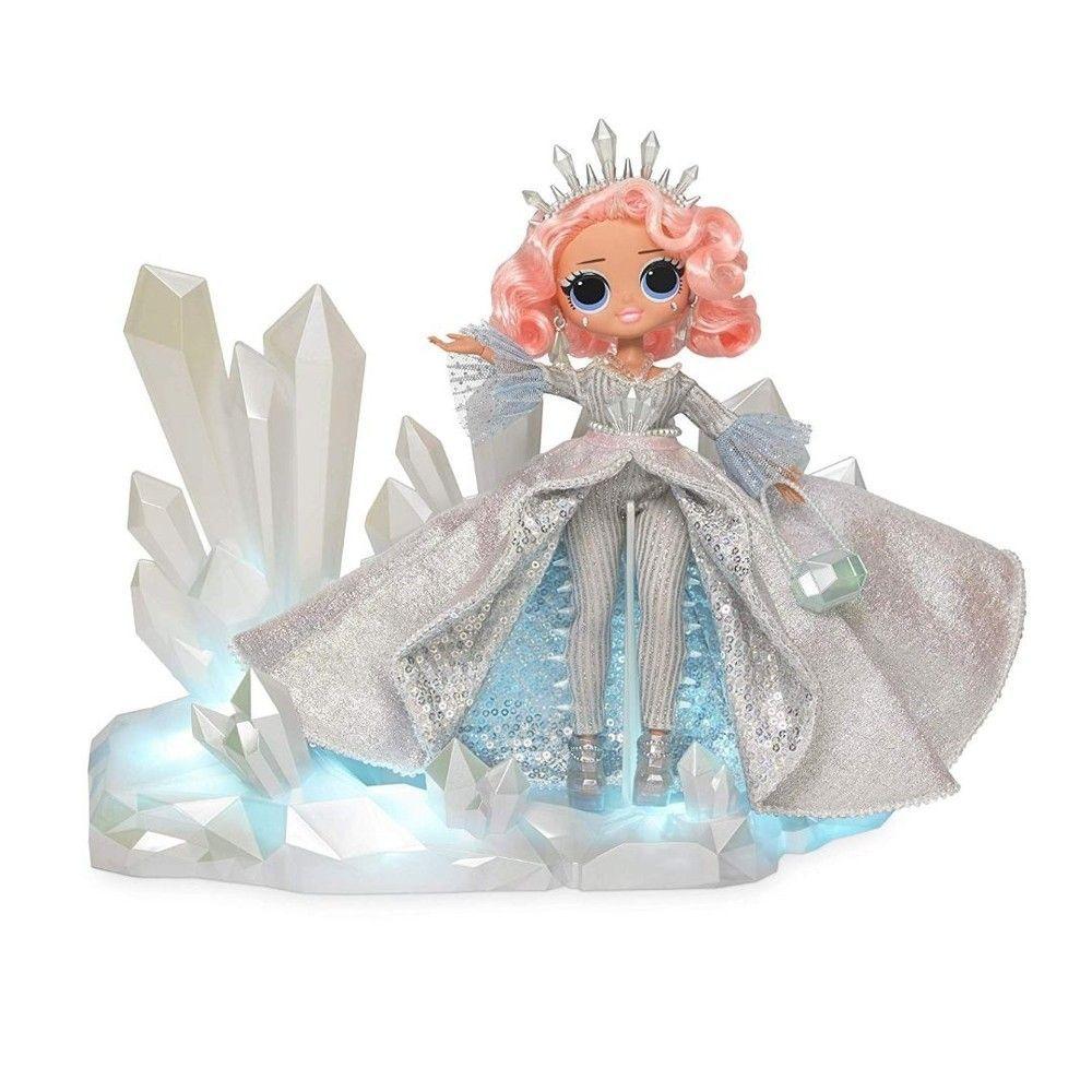 Boneca LOL Surprise: O.M.G Crystal Star (Winter Disco) - Candide