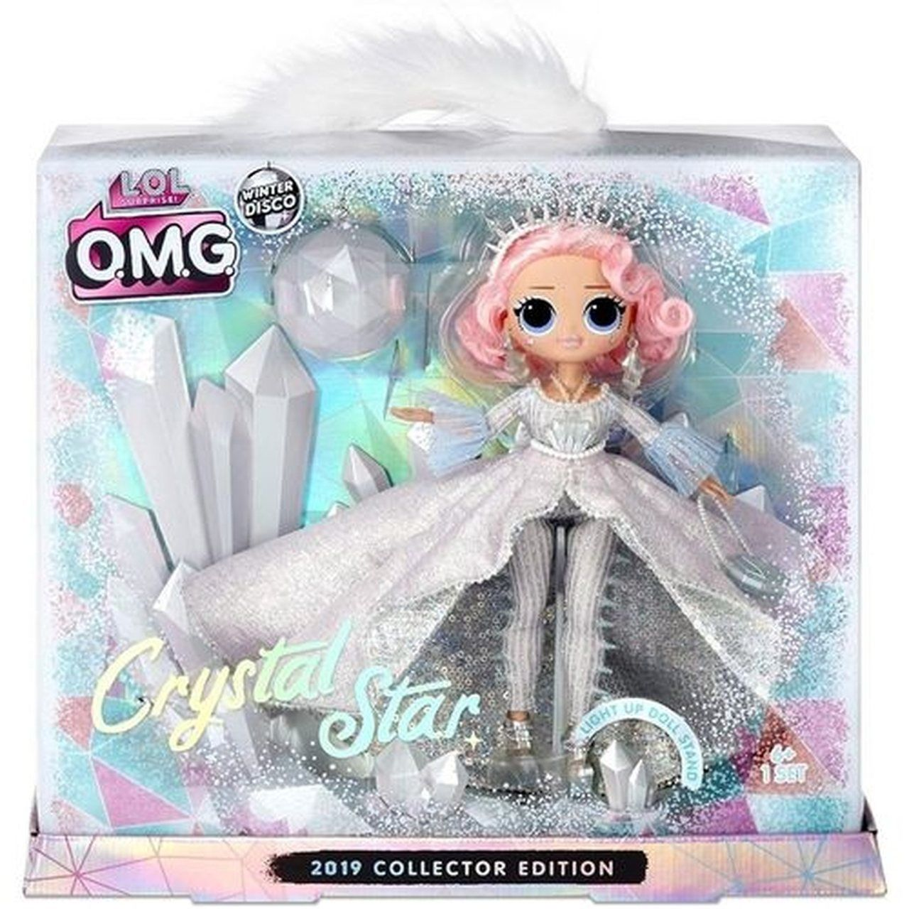 Boneca LOL Surprise: O.M.G Crystal Star (Winter Disco ...