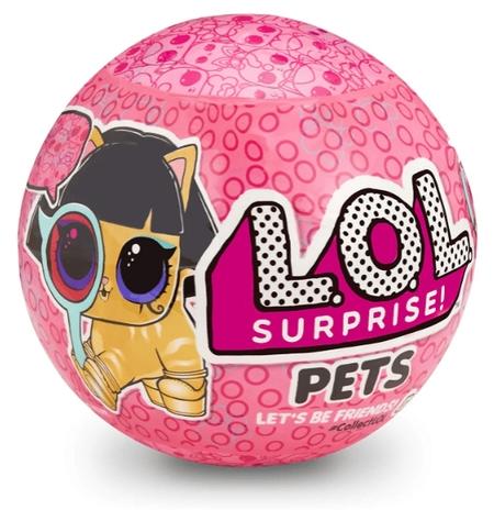 Boneca LOL Surprise: Pets (Série 4) 7 Surpresas - Candide