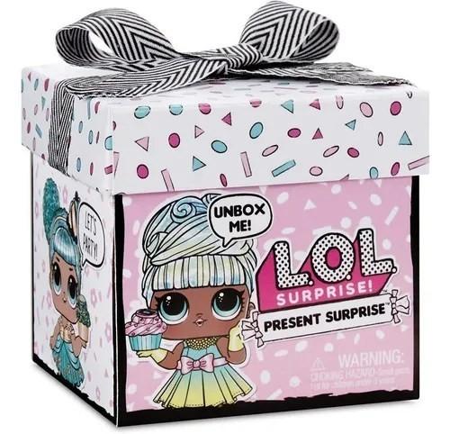 Boneca LOL Surprise Present Surprise (Sortido) - Candide