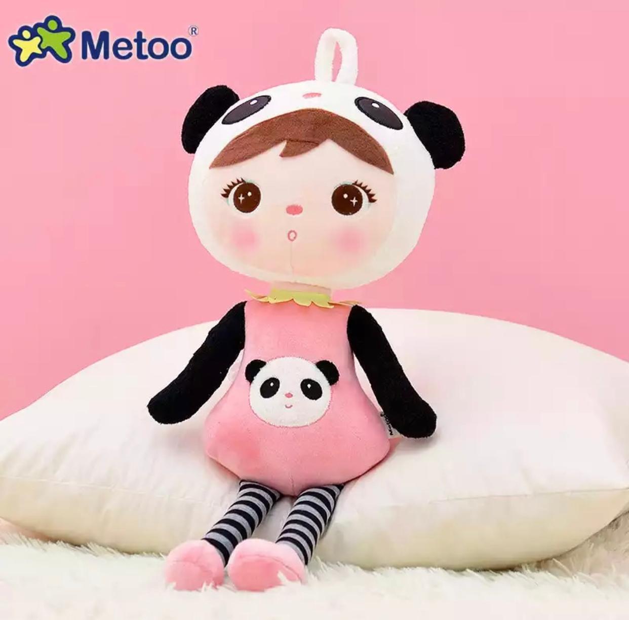 Boneca Metoo Panda 45 cm Febre Berço de Bebê Decoração