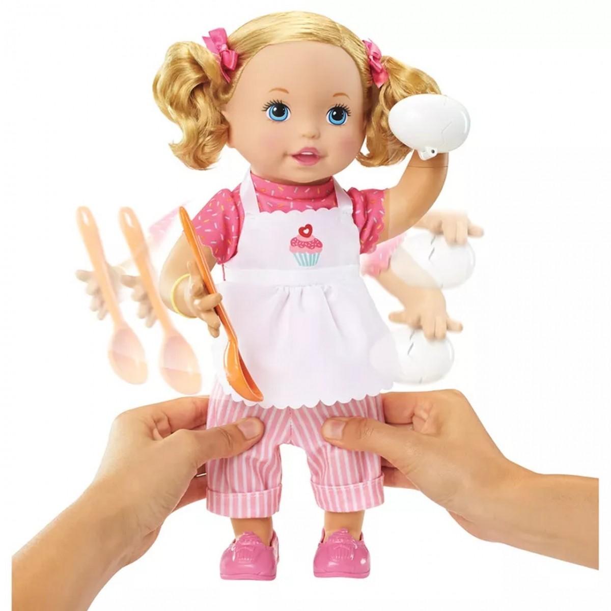 Boneca Pequena Chef Little Mommy