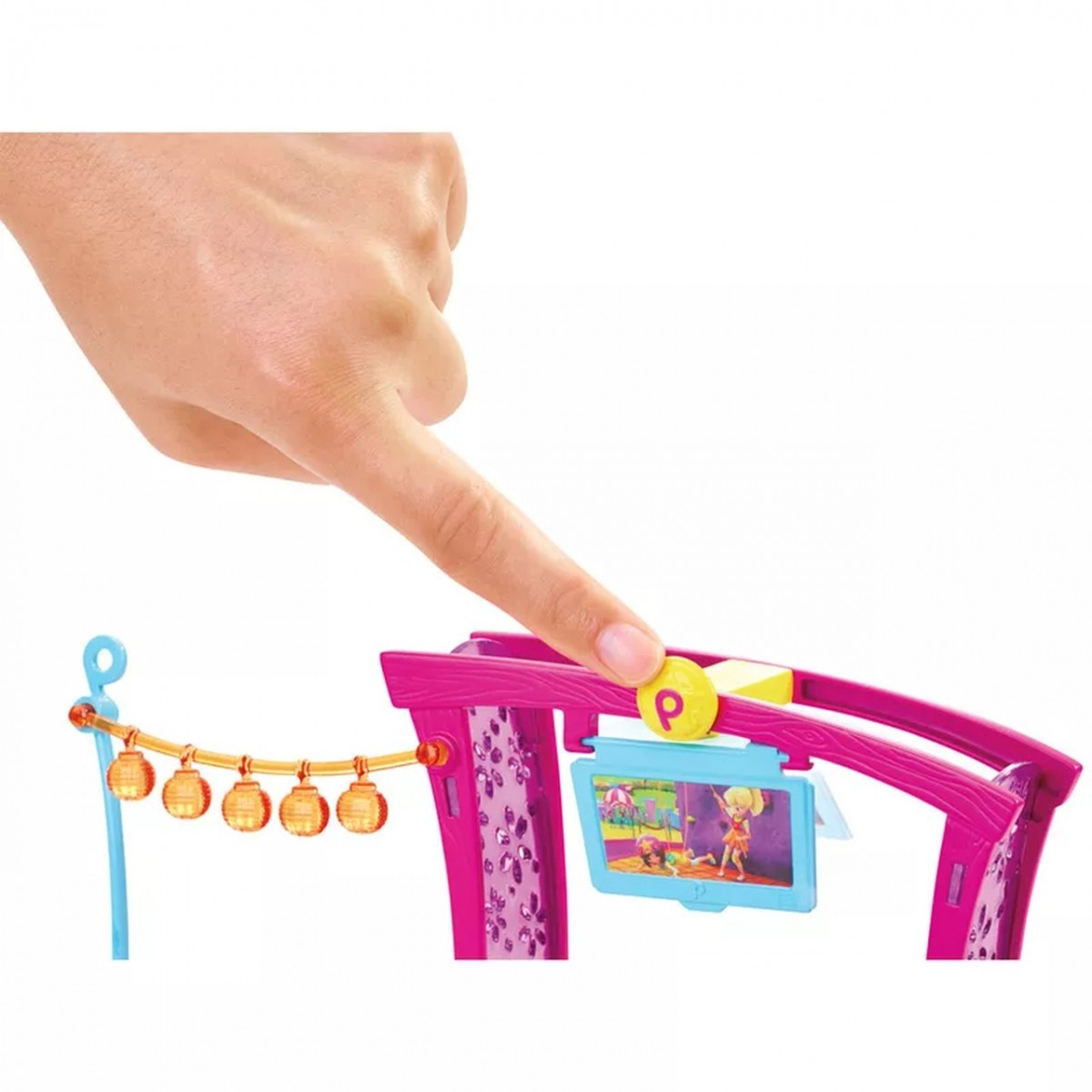 Boneca Polly com Playset: Churrasco Divertido Polly Pocket