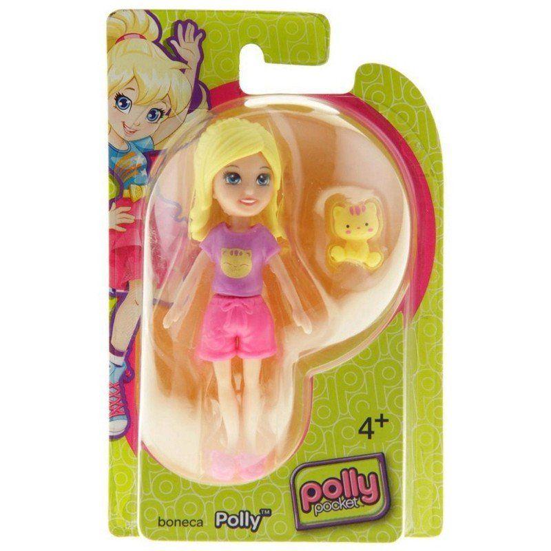 Boneca Polly (Gatinho): Polly Pocket - Mattel