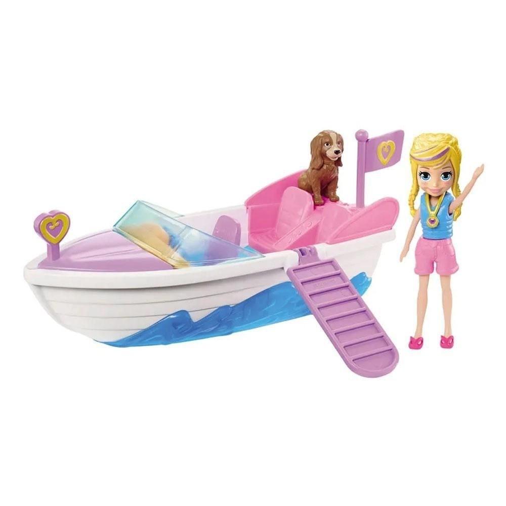 Boneca Polly: Polly Pocket (Aventura Em Lancha) - Mattel