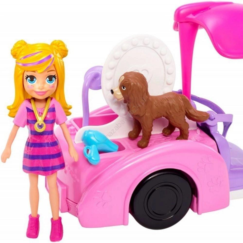 Boneca Polly: Polly Pocket (Veículo Banho De Cachorrinhos) - Mattel