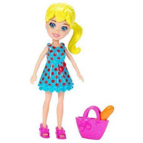 Boneca Polly (Sacola Rosa): Polly Pocket - Mattel